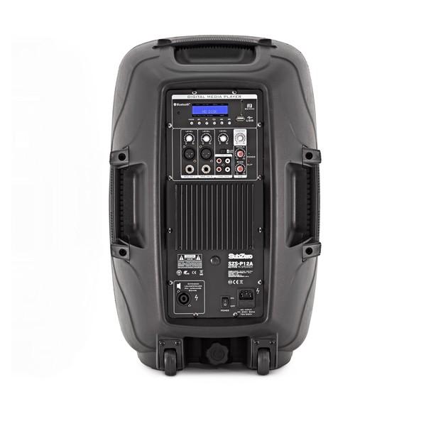 "SubZero SZS-P12A 12"" Active PA Speaker with Digital Media Player"