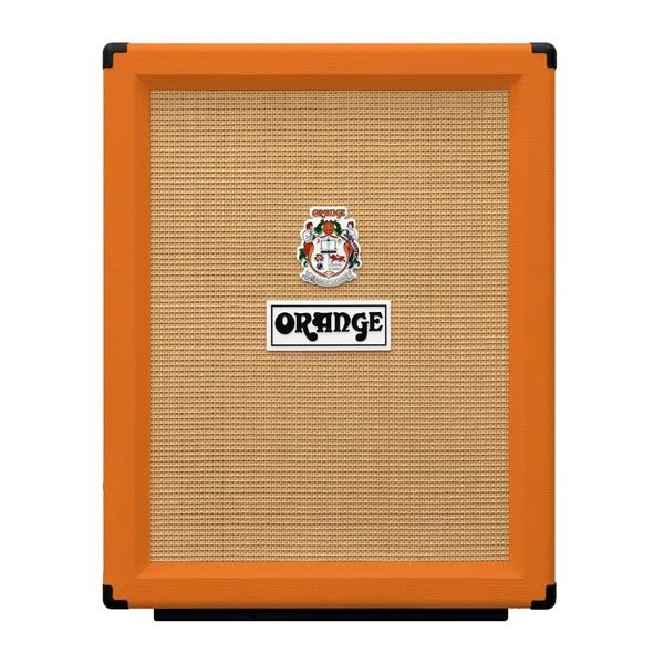 Orange PPC212V Vertical Open Back 2x12 Cabinet front