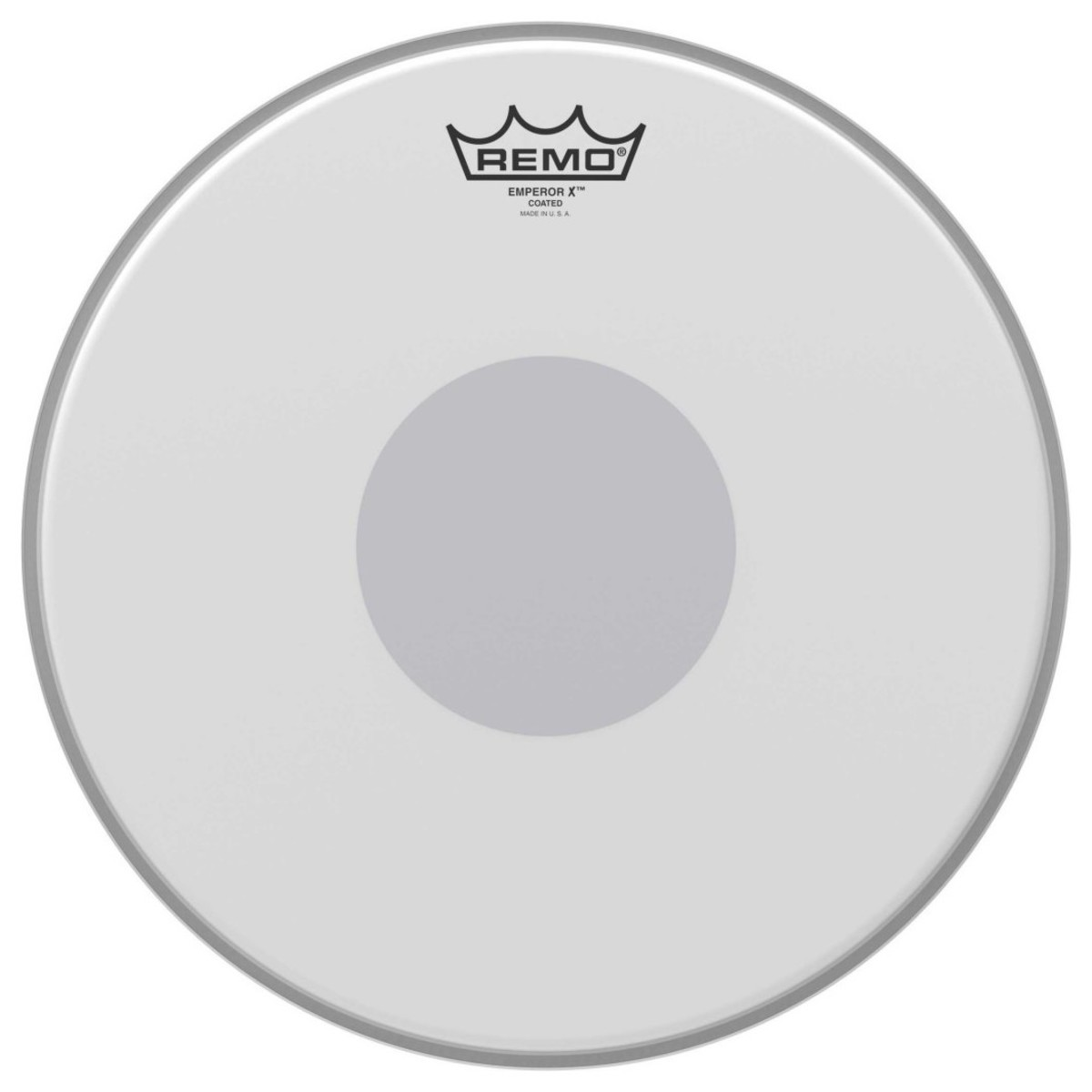 remo emperor x coated 13 39 39 reverse dot drum head at gear4music. Black Bedroom Furniture Sets. Home Design Ideas