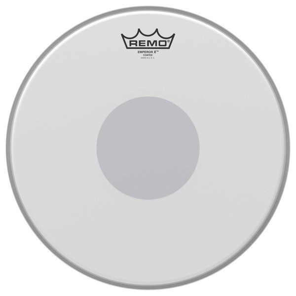 Remo Emperor X Coated 14'' Reverse Dot Drum Head