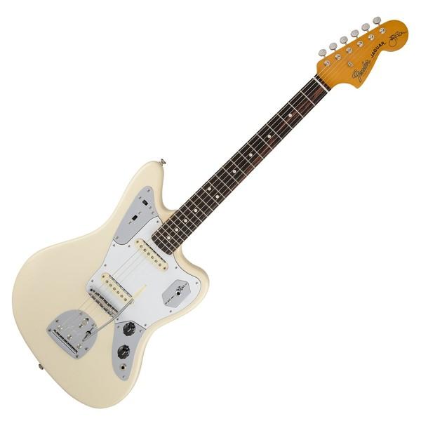 Fender Johnny Marr Jaguar, Olympic White