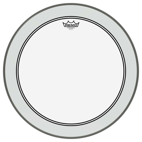 Remo Powerstroke 3 Clear 20'' Dot Bass Drum Head