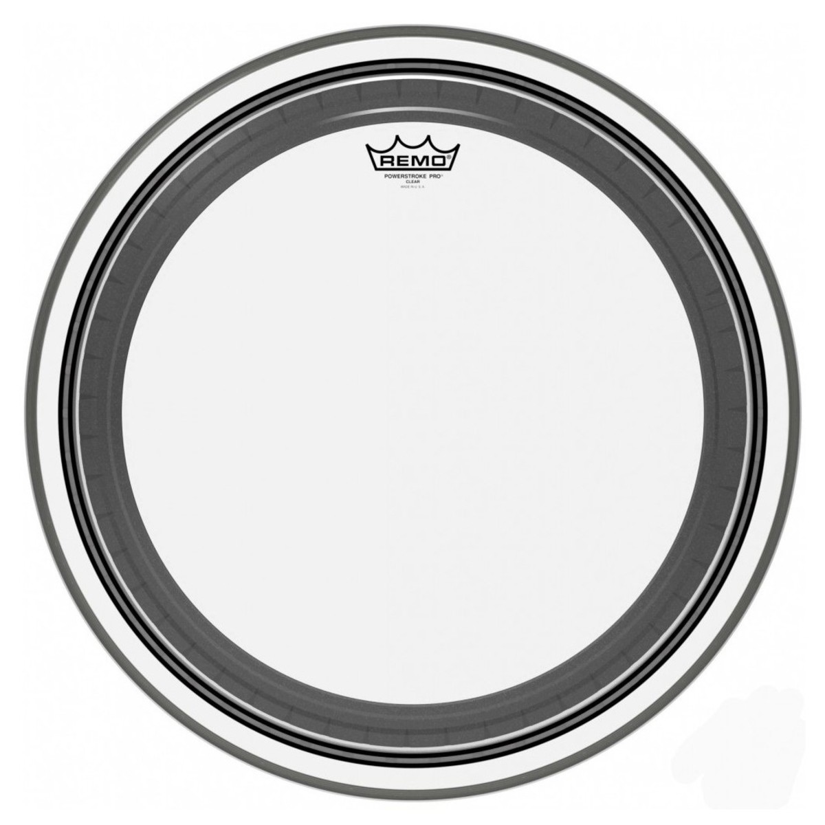 Click to view product details and reviews for Remo Powerstroke Pro Clear 22 Bass Drum Head.