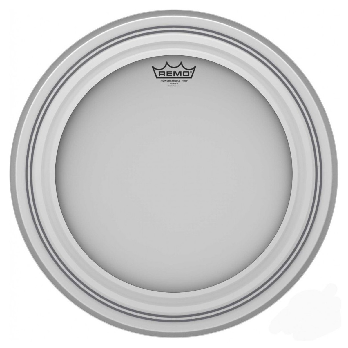 Click to view product details and reviews for Remo Powerstroke Pro Coated 22 Bass Drum Head.