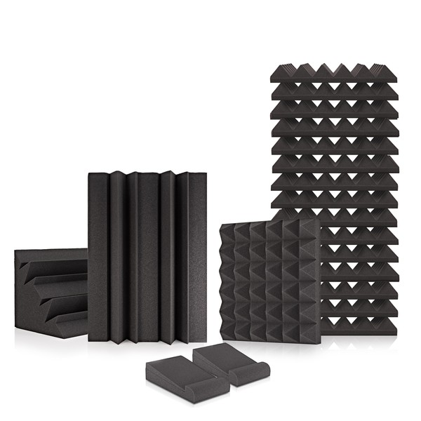 AcouFoam Room Kit by Gear4music