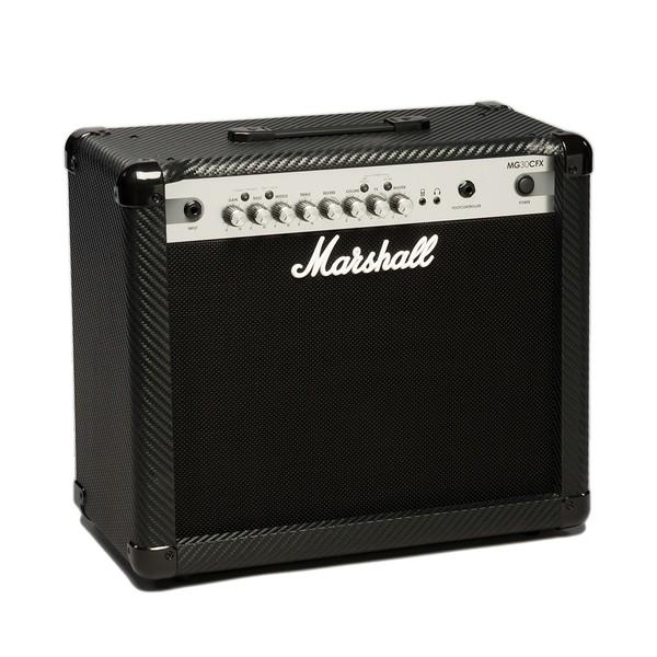 Marshall MG30CFX Carbon Fibre 30W Guitar Combo angle