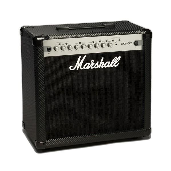 Marshall MG50CFX Carbon Fibre 50W Guitar Combo angle