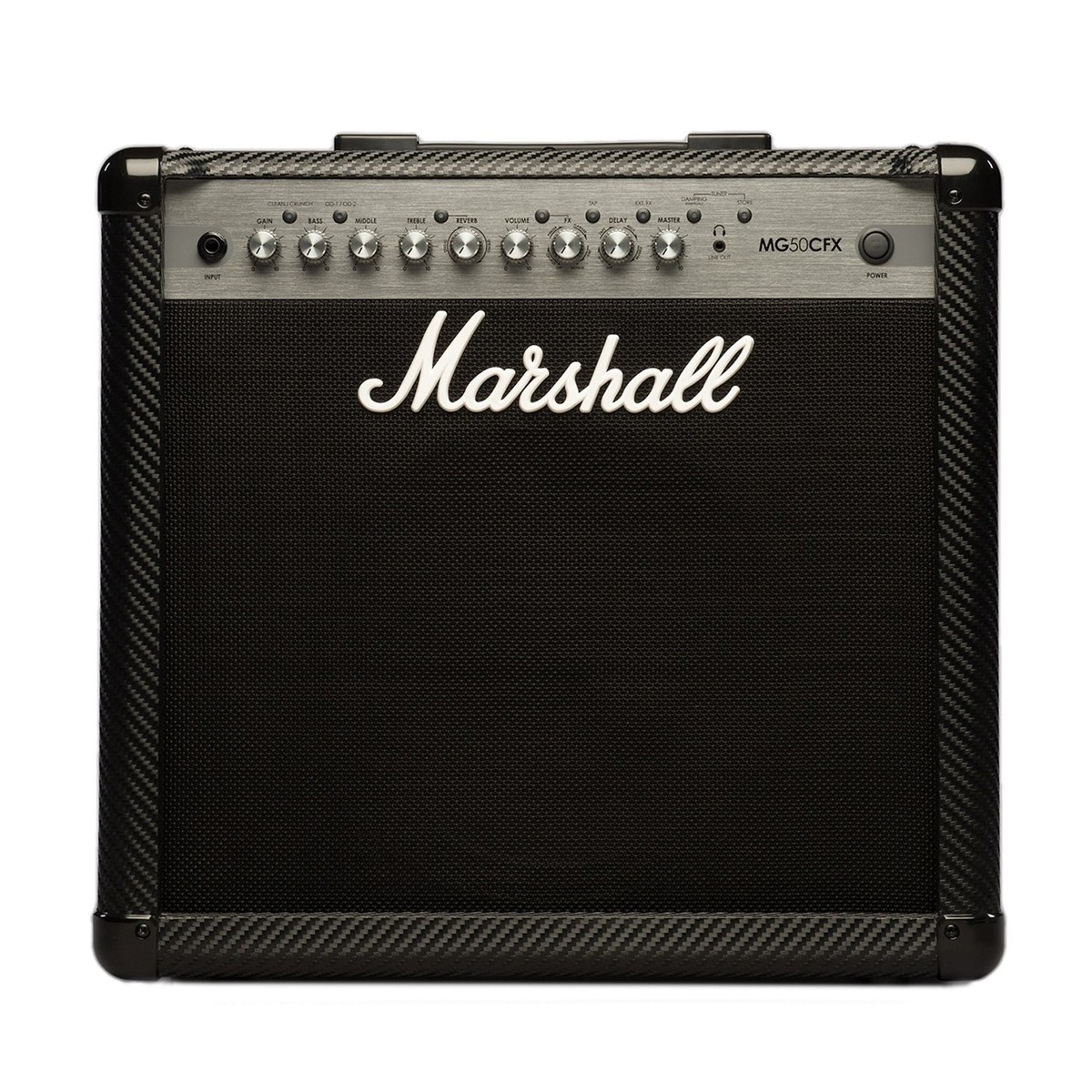 marshall mg50cfx carbon fibre 50w guitar combo at. Black Bedroom Furniture Sets. Home Design Ideas