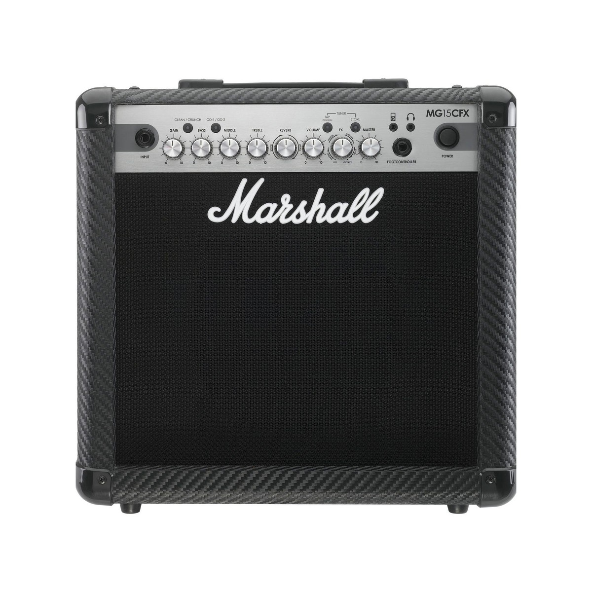 Marshall Mg15cfx Fibra De Carbono Combo Guitarra 15w Conmmutable  # Muebles Fibra De Carbono