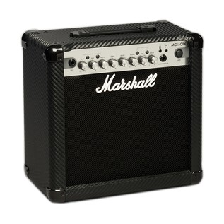 Marshall MG15CFX Carbon Fibre 15W Footswitchable Guitar Combo  angle