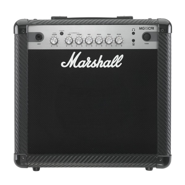 Marshall MG15CFR Carbon Fibre 15W Guitar Combo with Reverb