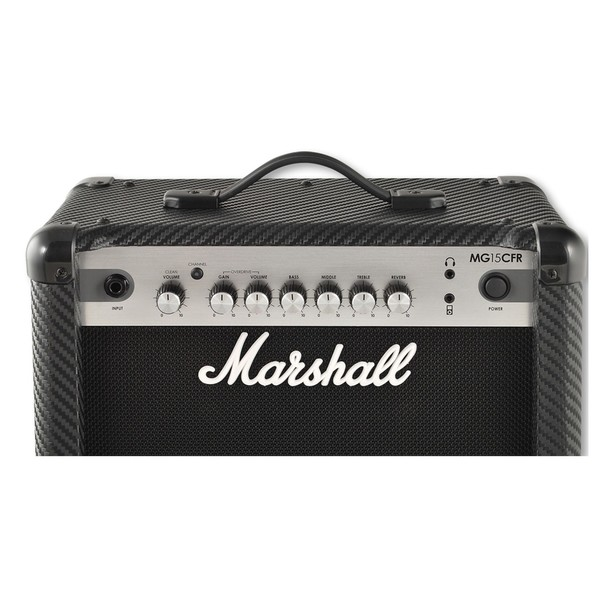 Marshall MG15CFR Carbon Fibre 15W Guitar Combo with Reverb controls
