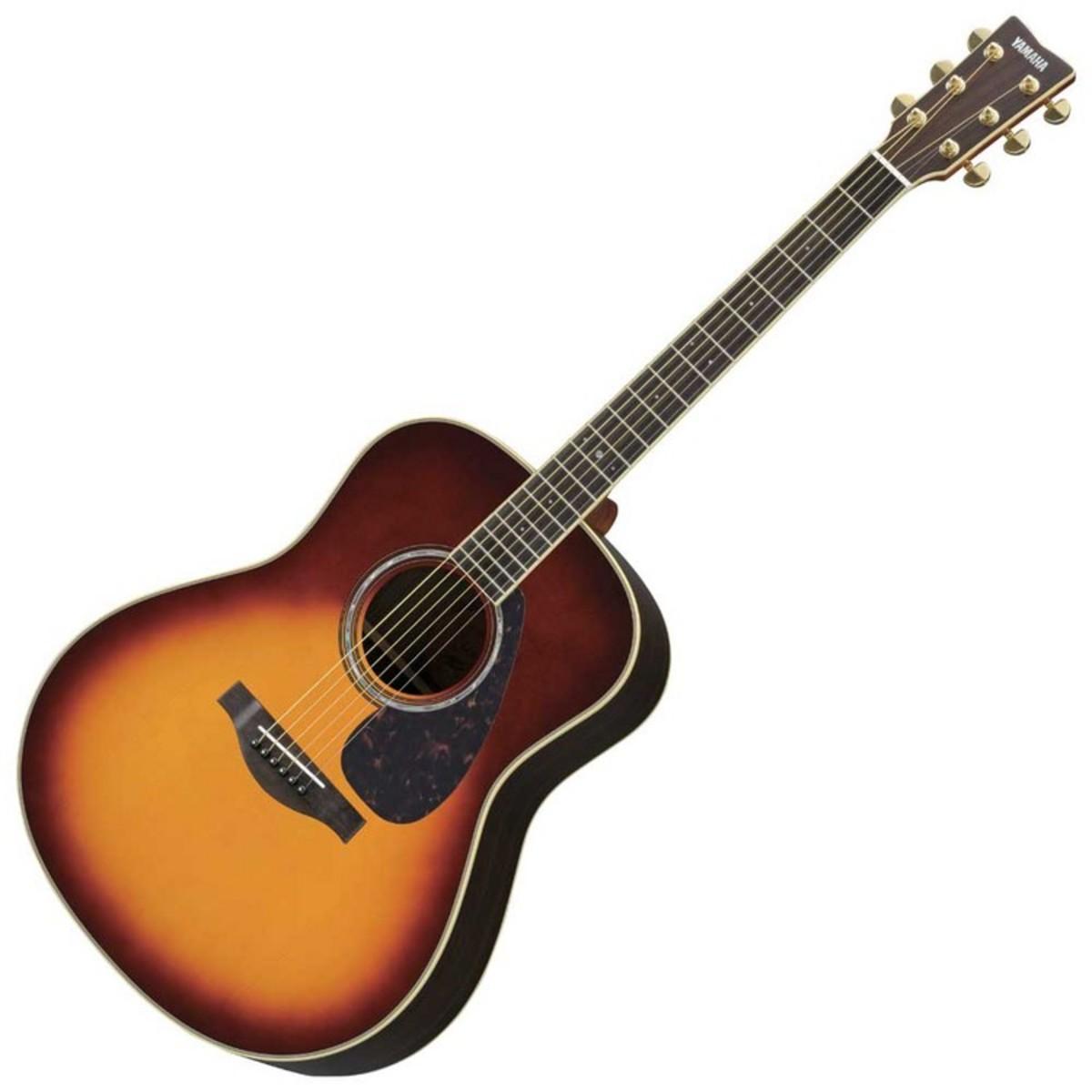 Yamaha ll6are electro acoustic guitar sunburst b stock for Acoustic yamaha guitar