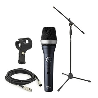 AKG D5 C S Dynamic Vocal Microphone with Stand and Cable
