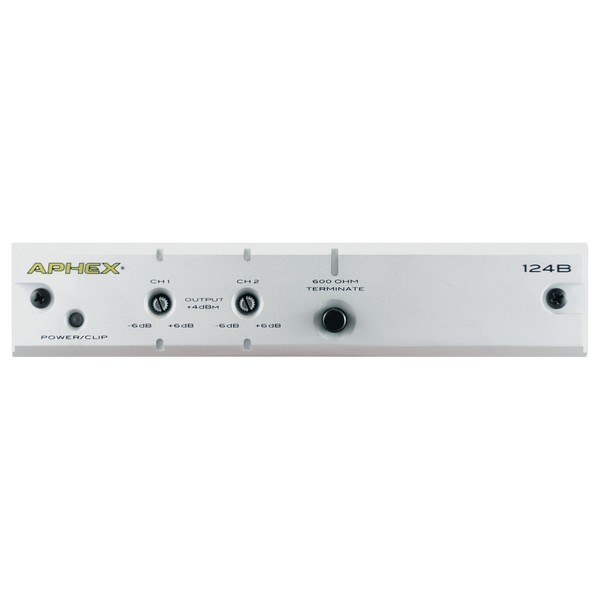 Aphex 124B Two Channel Audio Level Interface - Main