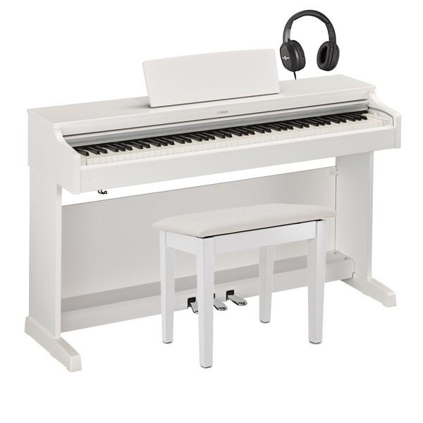 Yamaha YDP 163 Digital Piano Package, White