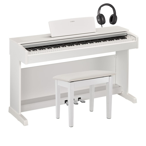 Yamaha YDP 143 Digital Piano Package, White