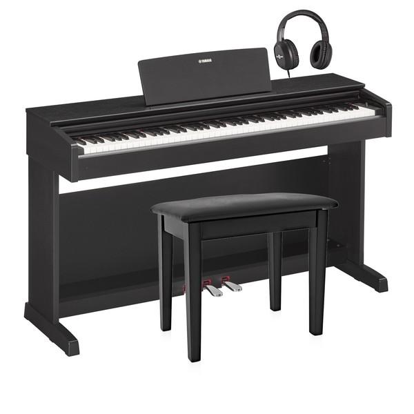 Yamaha YDP 143 Digital Piano Package, Black Walnut