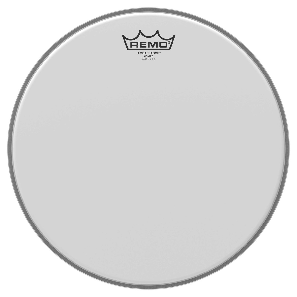"14/"" Remo Ambassador Schlagzeug Fell Drum Coated Head einlagig Snare Tom Attack"