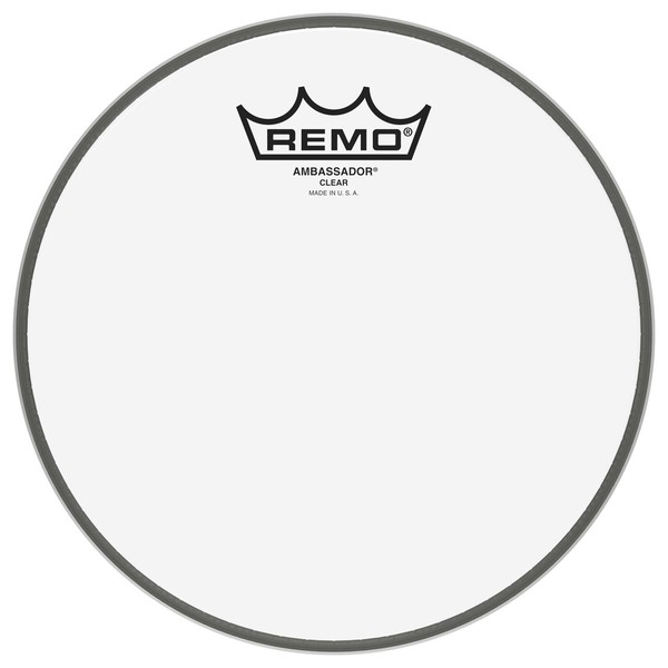 Remo Ambassador Clear 10'' Drum Head