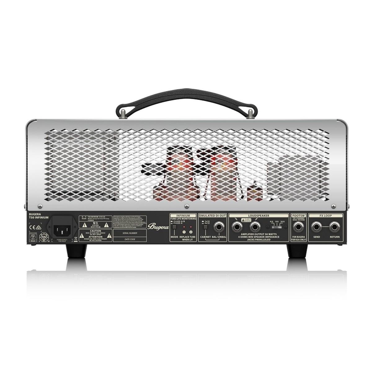bugera t50 infinium guitar head amplifier box opened at gear4music. Black Bedroom Furniture Sets. Home Design Ideas