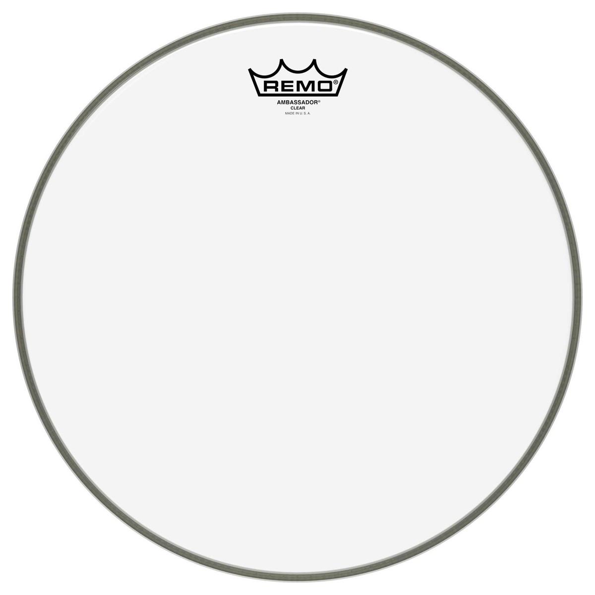 Remo Ambassador Clear 14 Drum Head