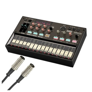 Korg Volca FM Digital Synthesizer With Free MIDI Cable - Bundle