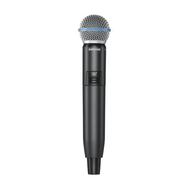 Shure GLXD2/B58 Digital Wireless Handheld Microphone Transmitter