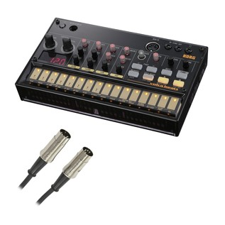Korg Volca Beats Analog Rhythm Machine With Free MIDI Cable - Main