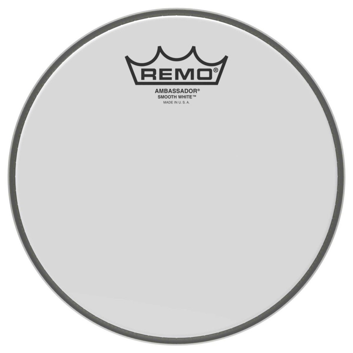 Click to view product details and reviews for Remo Ambassador Smooth White 12 Drum Head.