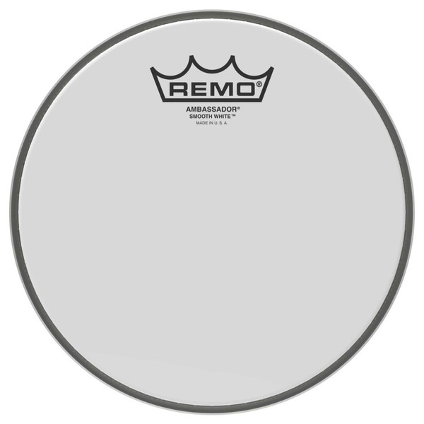 Remo Ambassador Smooth White 12'' Drum Head