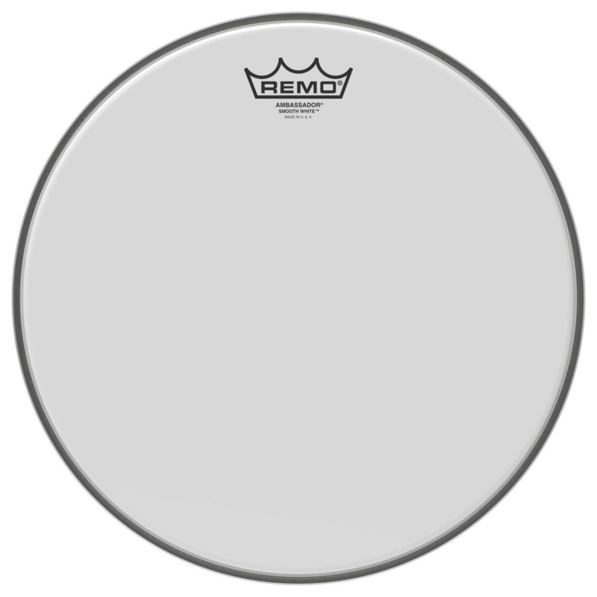 Click to view product details and reviews for Remo Ambassador Smooth White 13 Drum Head.