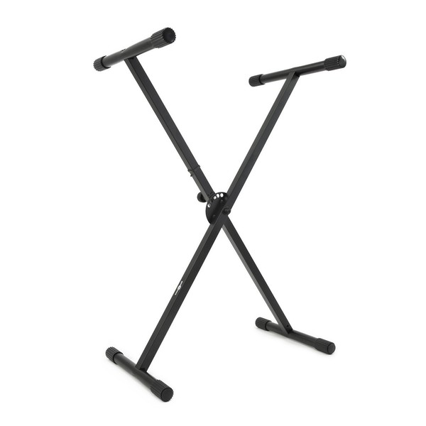 X-Frame Keyboard Stand by Gear4music - Angled
