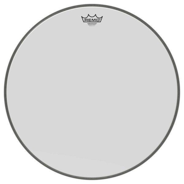 Remo Ambassador Smooth White 20'' Bass Drum Head