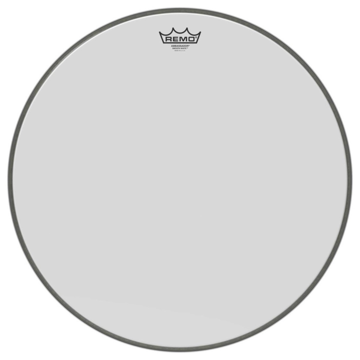 Click to view product details and reviews for Remo Ambassador Smooth White 22 Bass Drum Head.