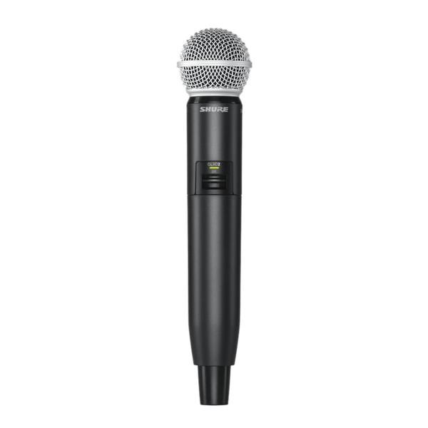 Shure GLXD2/SM58 Digital Wireless Handheld Microphone Transmitter