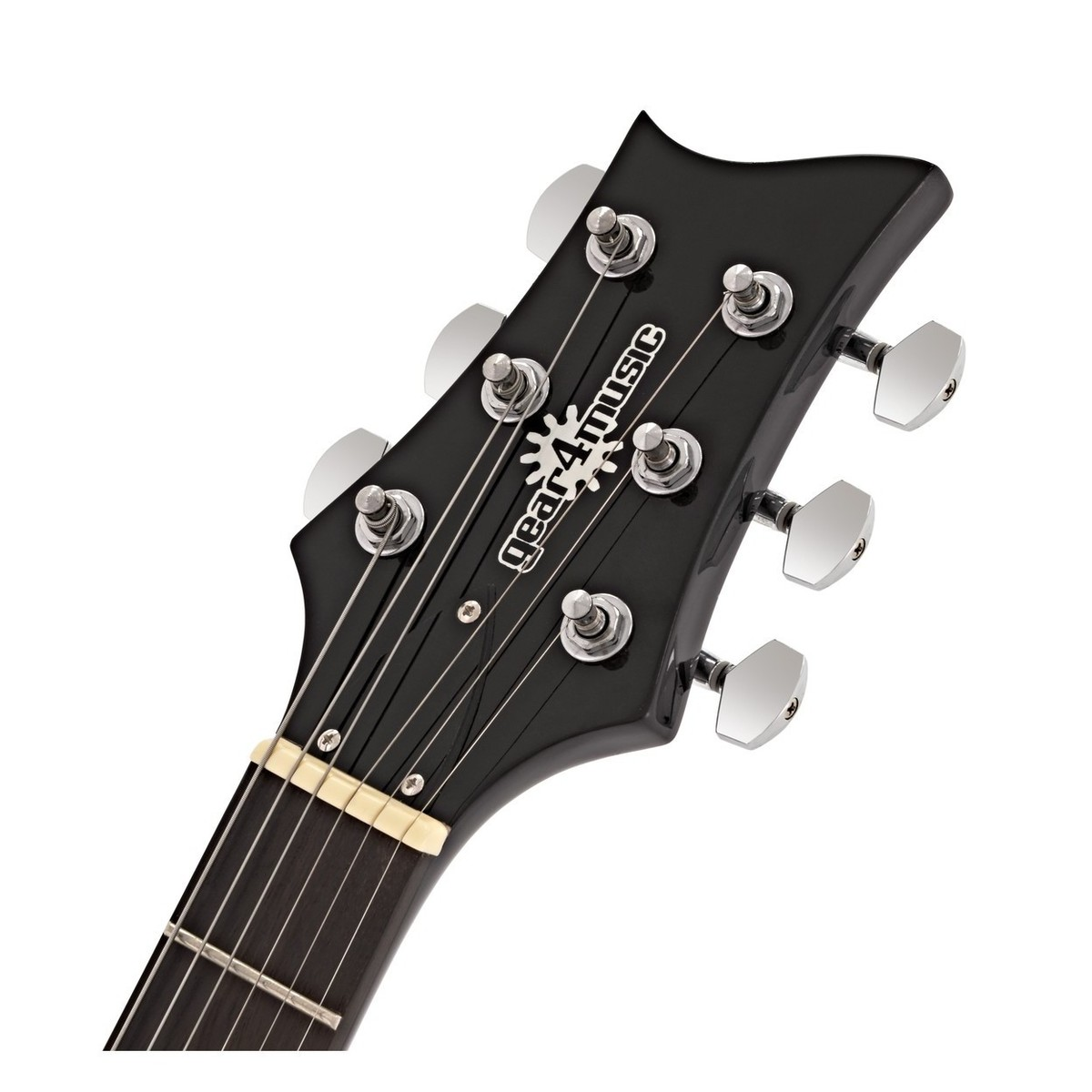pasadena electric guitar by gear4music black inc free itrack pocket at gear4music. Black Bedroom Furniture Sets. Home Design Ideas