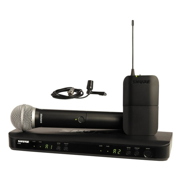 Shure BLX1288E/CVL-S8 Dual Wireless System with PG58 and CVL 1