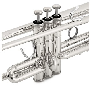 Bach TR337S Trumpet, Silver Plate