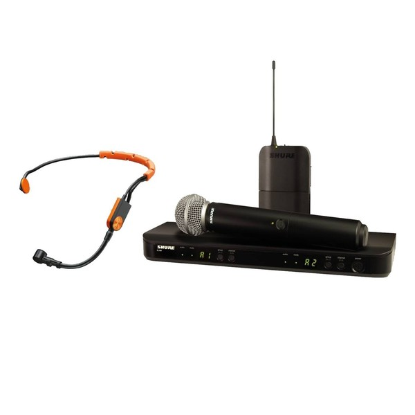 Shure BLX1288E/SM31-S8 Dual Wireless System with SM58 and SM31FH 1