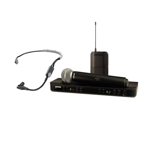 Shure BLX1288E/SM35-S8 Dual Wireless System with SM58 and SM35 1