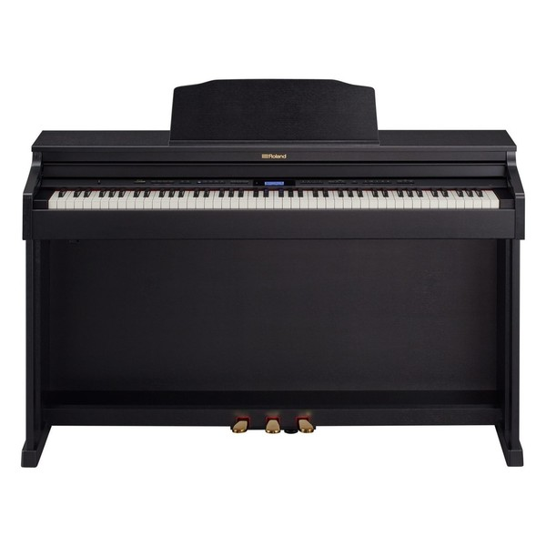 Roland HP601 Digital Piano, Contemporary Black