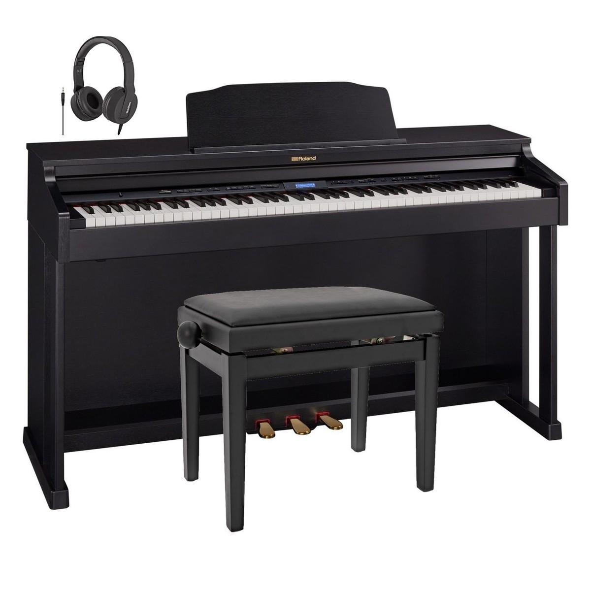 Roland Hp601 Digital Piano : roland hp601 digital piano contemporary black package at gear4music ~ Hamham.info Haus und Dekorationen