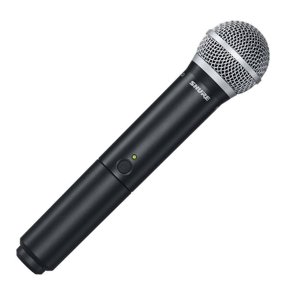 Aokeo Wireless Handheld Microphone : shure blx2 pg58 s8 wireless handheld microphone transmitter at gear4music ~ Hamham.info Haus und Dekorationen