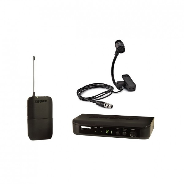 Shure BLX14E/P98H-T11 Wireless Instrument System with PGA98H