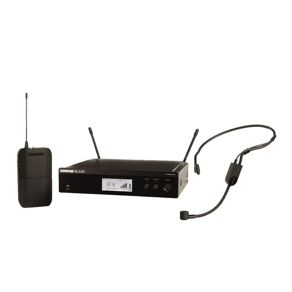 Shure BLX14RE/P31-S8 Rack Mount Wireless Headset System with PGA31 1