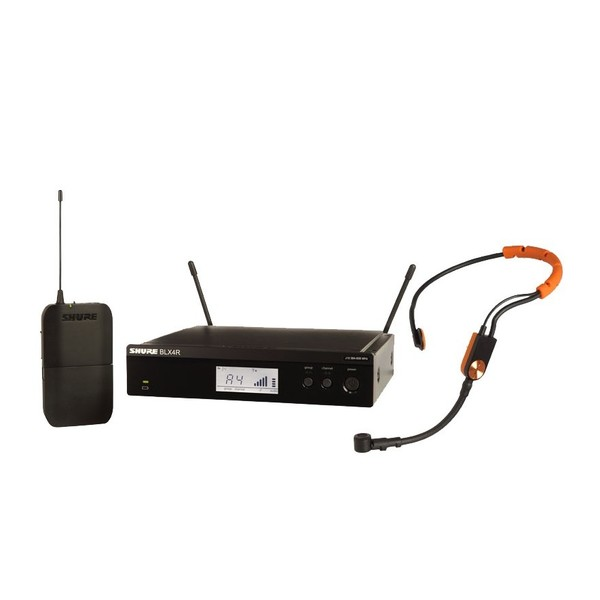 Shure BLX14RE/SM31-S8 Rack Mount Wireless Headset System with SM31FH 1