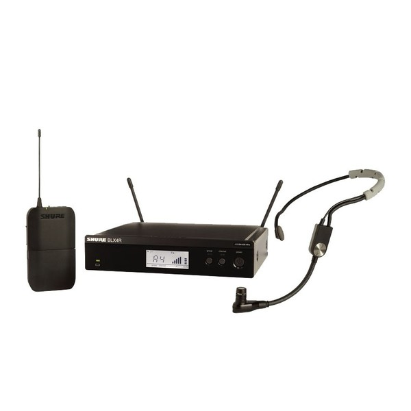 Shure BLX14RE/SM35-S8 Rack Mount Wireless Headset System with SM35 1