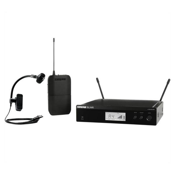 Shure BLX14RE/P98H-S8 Rack Mount Wireless Instrument System 1