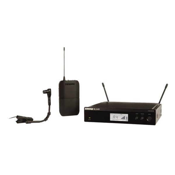 Shure BLX14RE/B98-T11 Rack Mount Wireless Instrument System 1